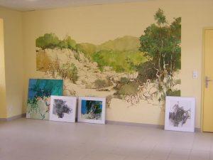 Fresques réalisées par Willem Weenink.
